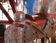 Carving detail - Celebration Square Carousel
