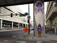 Piece by David Choe, Joseph To & DVS-1 at the Denver International Airpost, CO.