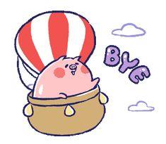 Line Sticker, Stickers, Bye Bye, Gifs, Friends, Amigos, Presents, Boyfriends, Decals