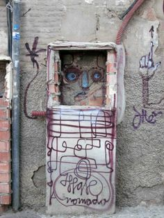 Granada, Spain, 2013. Photograph: Rick Poynor. From the essay: The Incidental Pleasures of Street Art