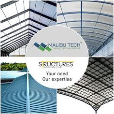 Your architecture meets the right structure when your needs are tailored by our expertise. Our flair for structures first suggests and then perfects untarnished roofing solutions for buildings! #MalibuTech #Roofing #Structure