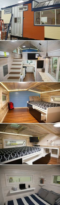 The Artist: a new 28' tiny house from Alpine Tiny Homes