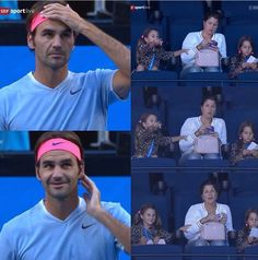 Roger Fedrer, Roger Federer Family, Mirka Federer, Mr Perfect, Tennis Stars, Love My Boys, Living Legends, Best Player, Fan Page