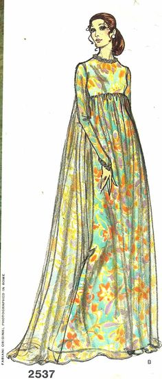 Vogue Couturier Design 2537   Fabiani  Bust 32 by GoVogue on Etsy, $32.00