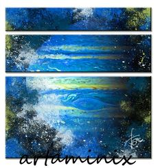 Abisso blu 2012 #handmade #painting