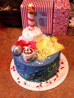 Dippidee: Christmas Cakes Polar Express Cake