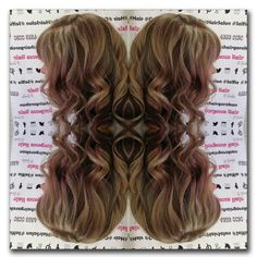 Gorgeous Hair @ Gorokan - Google+ #curls #highlights #blonde #mirrorfun