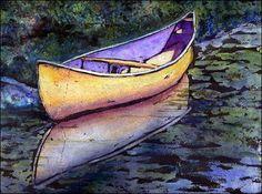 watercolor-ink-resist...free painting tutorial!!