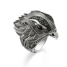 Ring aus der Rebel at heart Kollektion im Online Shop von THOMAS SABO