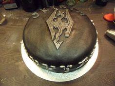 Skyrim Cake^^ Alex's Bday Cake