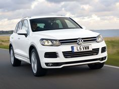 Volkswagen has introduced a new top of the range Touareg model – the 'R-Line' priced from £44,025.