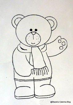 """""""Pob, il piccolo orso blu""""   è una bella storia di Natale   che ho trovato nella rivista   """"Scuola dell'Infanzia"""".                   ..."""
