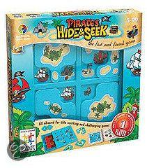 bol.com | Smart Games Hide & Seek - Piraten | Speelgoed