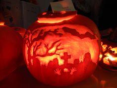 Graveyard Pumpkin