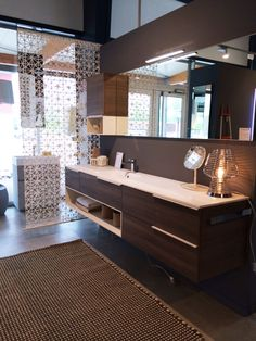 Bathroom furniture composition in Lutterbach, France #arredobagno ...