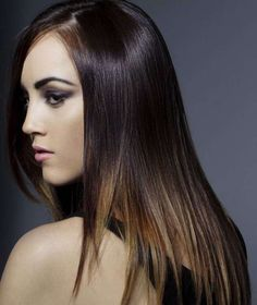 Partial highlighting for brunettes  :: one1lady.com :: #hair #hairs #hairstyle #hairstyles