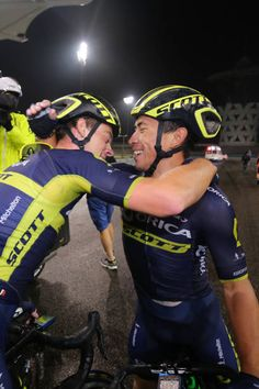 3rd Abu Dhabi Tour 2017 / Stage 4 Arrival / Alexander EDMONDSON / Caleb EWAN / Celebration / Yas Marina Circuit Yas Marina Circuit / Ride to Abu...