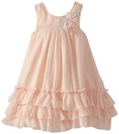 Pippa & Julie Ruffled Gatsby Dress, Pink,