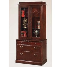 File Cabinet Bookshelf Combo | 7376 46 Oxmoor Lateral/Bookcase Combination  By DMI