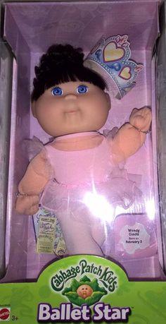 MIB 2001 Cabbage Patch Kids Ballet Star Blue Eyes Cornsilk Hair Pink Ballerina