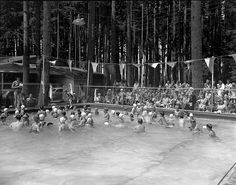 1950: Benton Lane Swimming Pool, between Monroe and Junction City Oregon. In the 60s our SR.co-ed P.E. class would go here and swim one Friday and then on the next Friday we would go roller skating and then the next Friday we would go bowling what memories this place has.