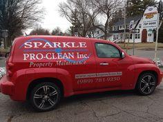 Sparkle pro clean vehicle graphics