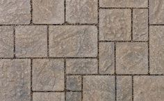 Hydr'eau Pave Silversand Pavers by Oaks Landscape Products. These thick paving stones allow optimum water flow through joints to reduce erosion and sediment build up, and are suitable for pedestrian and moderate vehicular traffic. Paving Stones, Concrete Design, Water Flow, Walkway, Brick, Sidewalk, Landscape, Modern, Pedestrian