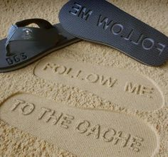 follow me to the cache - #geocaching