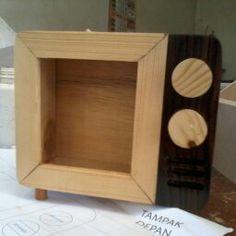 old television photo frame material: jati belanda combine with sonokeling dimension: 15 cm x 18 cm x 7 cm  pemesanan hubungi: text/watsap 085729006440 line: stephanie.o PIN BB: 7D69600E   #sale #jualan #jualanku #forsale #frame #customframe #wood #pinwood #design #craft #furniture #olshop #yogyakarta #beruangstudio