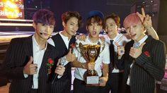 B1A4's 1st 'Sweet Girl' win - Latest K-pop News - K-pop News | Daily K Pop News