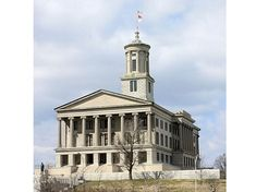 Photo: Tennessee State Capitol in Nashville, Tennessee. Credit: Kaldari; Wikimedia Commons. Newspaper Article, Old Newspaper, Newspaper Archives, Genealogy Research, Nashville Tennessee, Find Picture, Wikimedia Commons, Historian, Family History