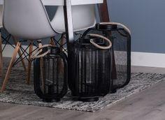 Farol portavelas negro Online Shopping, Hall, Lanterns, Filing Cabinets, Black, Interiors