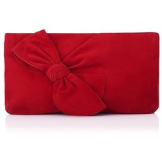 Fay Red Suede Clutch | Clutch Bags | Handbags | Collections |... (72.175 HUF) ❤ liked on Polyvore featuring bags, handbags, clutches, party clutches, handbag purse, red hand bags, suede purse and chain strap purse