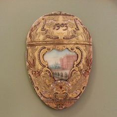 Magnet #1424: Imperial Peter the Great Easter Egg, 1903. Gold, platinum, diamonds, rubies, enamel, bronze, sapphire, rock crystal, ivory, watercolor. (9/28/13) From the glorious @Kendra Wadsworth #Faberge exhibit. #art #museum #design Peter The Great, Faberge Eggs, Gold Platinum, Exhibit, Art Museum, Easter Eggs, Magnets, Sapphire, Diamonds
