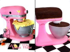 Kitchen Aid 3D cake - by Verusca Walker