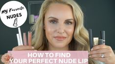 Finding your perfect nude lip can be challenging but I show you my best tips for finding the best nude for you. I also share my top 10 lipsticks that you guy. Nude Lipstick, Matte Lips, Liquid Lipstick, Bite Beauty, My Beauty, Makeup 101, Lip Makeup, Urban Decay Vice Lipstick, Lipstick Tutorial