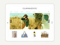 Website Claramonte bags by lovmint