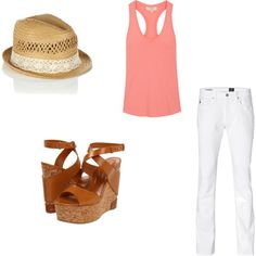 Spring in Texas, created by abbywilkerson on Polyvore