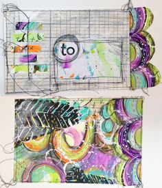 Mail art video tutorial with Roben-Marie Smith