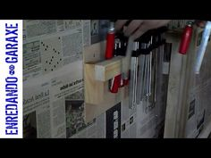 How to make a very simple clamp rack, to keep my cheap metallic clamps in order. It is easy to make and I can put a lot of these clamps in it. http://woodwor...