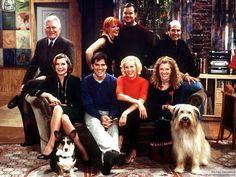 Dharma and Greg - I wish they would put more than just the first season of this out on dvd.  Currently enjoying it in syndication however.