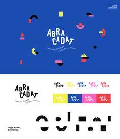 Branding for Abracadat Corporate Design, Brand Identity Design, Corporate Identity, Kids Branding, Logo Branding, Espace Design, Web Design, Brand Book, Design Graphique