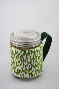 ReFluff eco friendly mason jar cozy mason jar sleeve by Refluff, $12.00