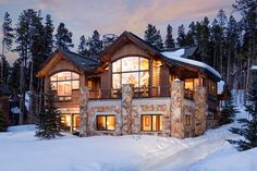 5 Bedrooms / 5.5 Bath Private Cabin Home – Close to Main St. and Skiing in Breckenridge. #homeaway