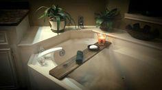 #Bath, #Bathroom, #Bathtub, #RecycledPallet, #Shelf, #Tub