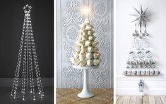 Decofilia te muestra más de 40 ejemplos de árboles de Navidad modernos: DIY, minimalistas, imaginativos... Árboles de navidad originales para estas fiestas.