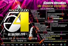 "El Molino presenta: ""Studio 54"" http://crestametalica.com/events/el-molino-presenta-studio-54-2/ vía @crestametalica"
