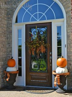 Fall Front Porch Decorations!