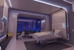 1 | The Hospital Room Of The Future: Flexible, Media Rich, Very Shiny [Slideshow] | Co.Design: business + innovation + design