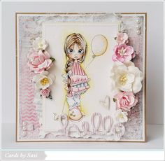 Cards by Susi: Hello